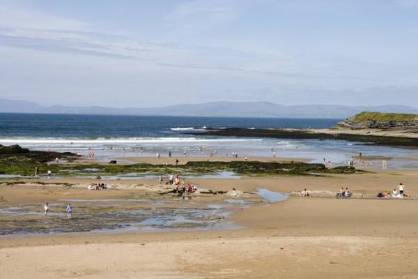 Irland - Bundoran Beach in Donegal County
