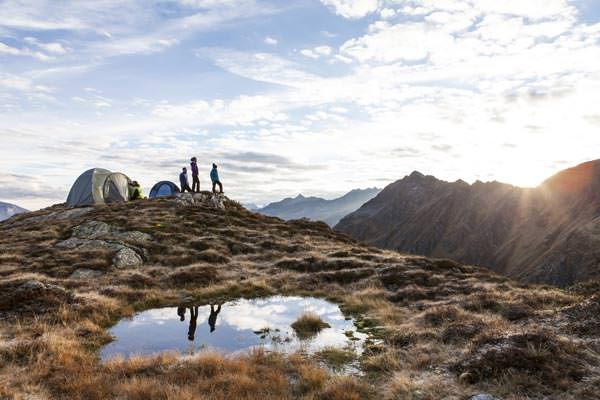 Silvretta Montafon - Alpines Campen