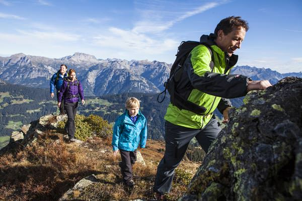 Silvretta Montafon - Familien wandern