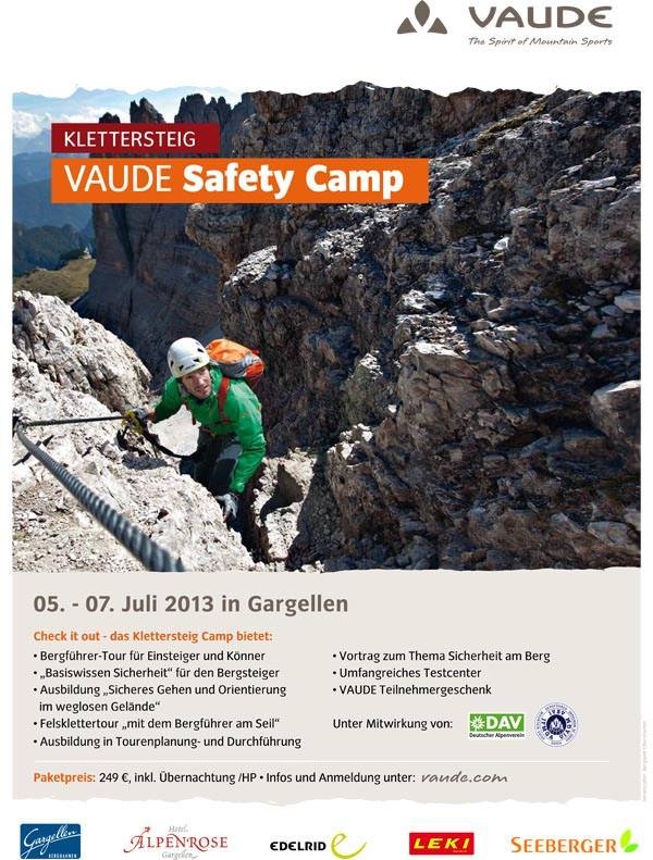 Vaude Klettersteig Camp 2013