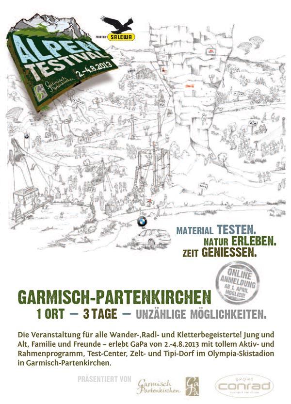 Alpentestival - Flyer 2013