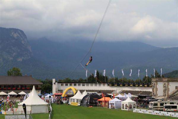 Alpentestival - Flying Fox