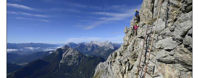 Alpenwelt Karwendel - Karwendel Klettersteig