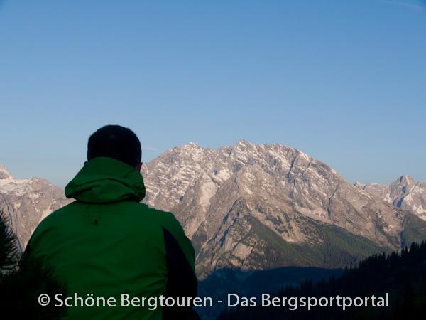 Berchtesgadener Alpen - Der Watzmann am Morgen