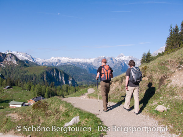 Berchtesgadener Alpen - Wandern