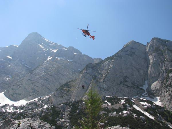 Deutscher Alpenverein - Hubschrauber