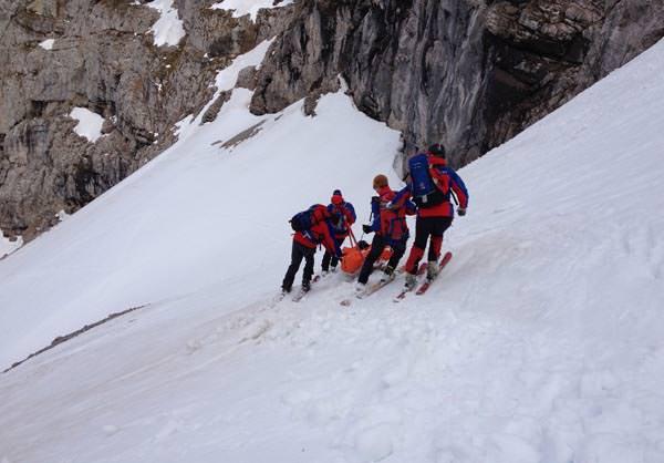 Deutscher Alpenverein - Rettung Winter