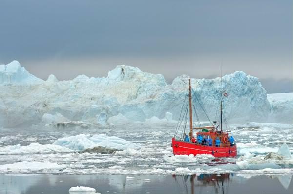 Groenland - Im Ilulissat Eisfjord