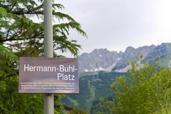 Oesterreichischer Alpenverein - Hermann-Buhl-Platz