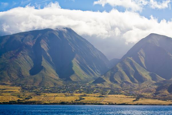 Hawaii - Maui, Lahaine - West Maui Mountains