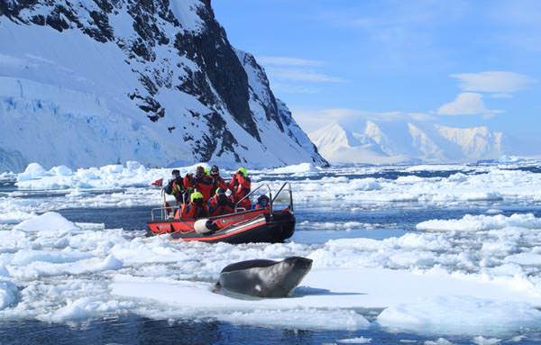 Hurtigruten - Lemaire Channel