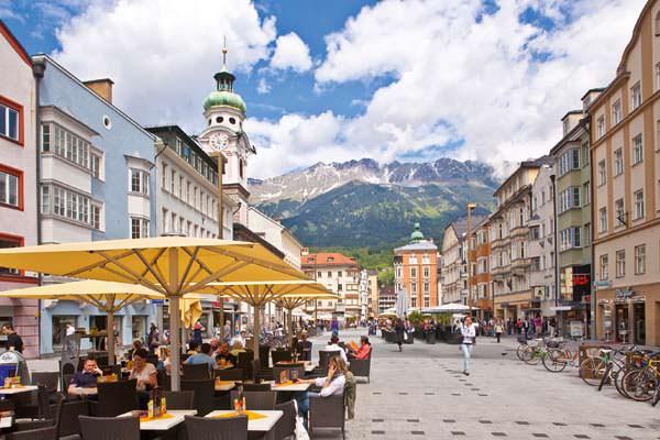 Innsbruck - Maria-Theresien-Strasse