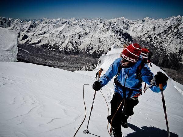 Kunyang Chhish Ost Expedition 2013 - Akklimatisation auf dem Ice Cake Peak