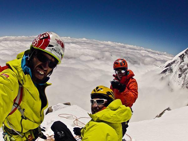 Kunyang Chhish Ost Expedition 2013 - Gipfelfoto
