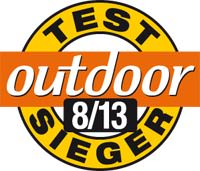Outdoor Testsieger 08 2013