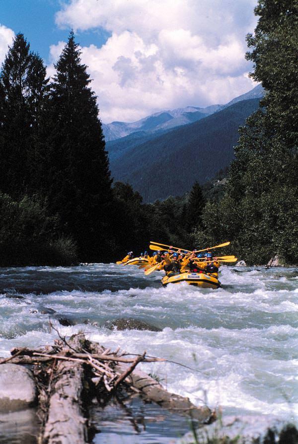 Trentino - Rafting-Tour