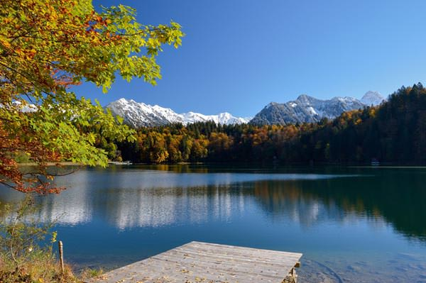 Oberstdorf - Freibergsee im Herbst