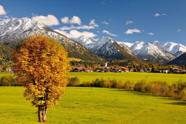 Oberstdorf im Herbst - Foto: Tourismus Oberstdorf