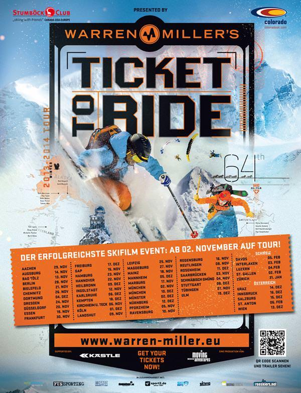 Warren Miller - Ticket to Ride