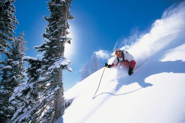 Aspen-Snowmass - Blauer Himmel in Aspen