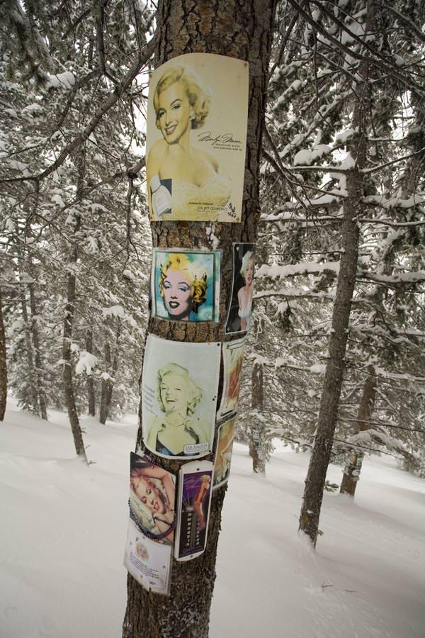 Aspen-Snowmass - Marilyn Monroe Schrein