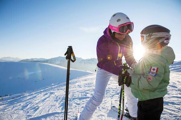 Gitschberg Jochtal - Familie mit Ski