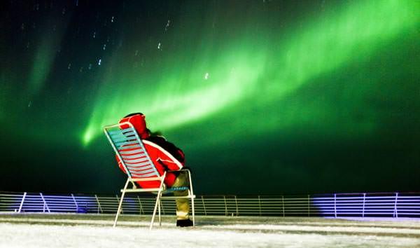 Hurtigruten - Nordlicht an Deck