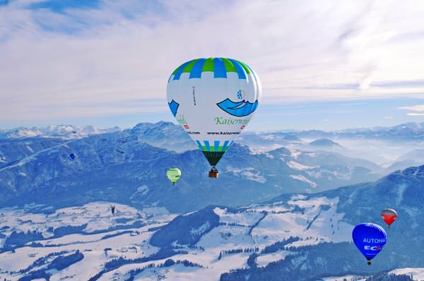 Kaiserwinkl - Ballooning