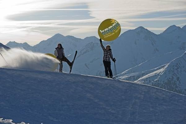Kappl-See - Skifahrer