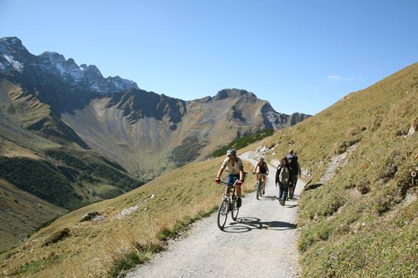 Liechtenstein - Biken in Malbun