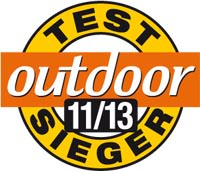 Outdoor Testsieger 11 2013