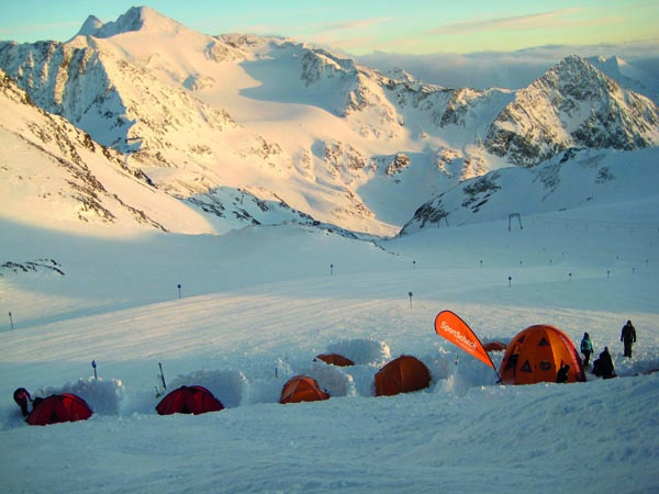 Stubaier Gletscher - Sportscheck Biwak Camp
