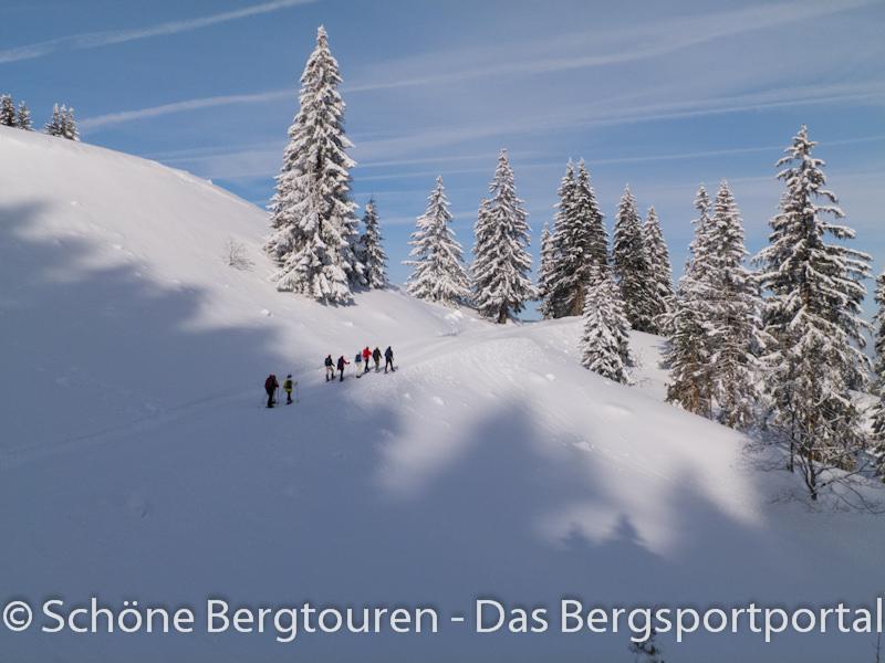 Vaude Schneeschuh Camp 2012 - Blauer Himmel und Sonnenschein