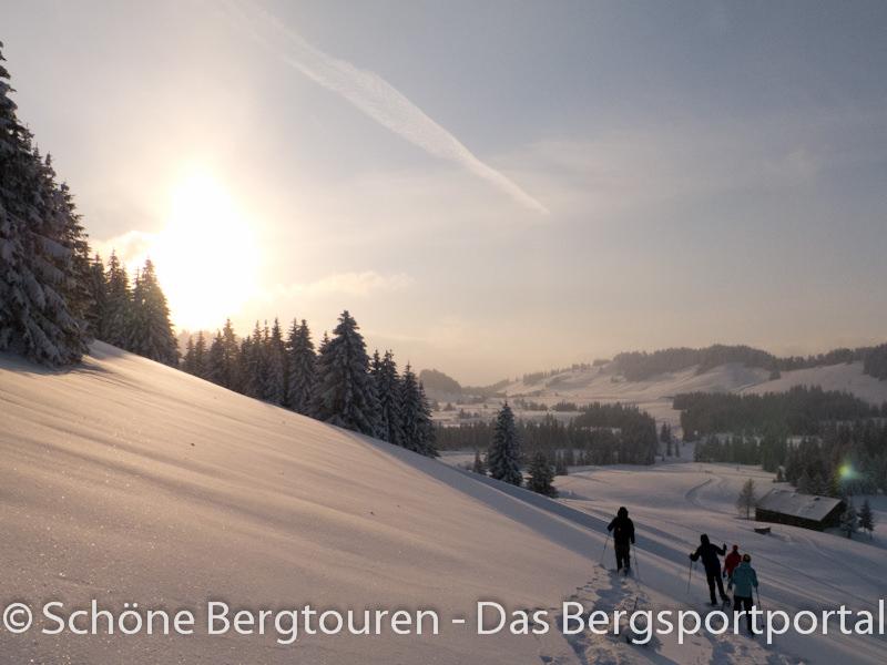 Vaude Schneeschuh Camp 2012 - Schneeschuhwandern