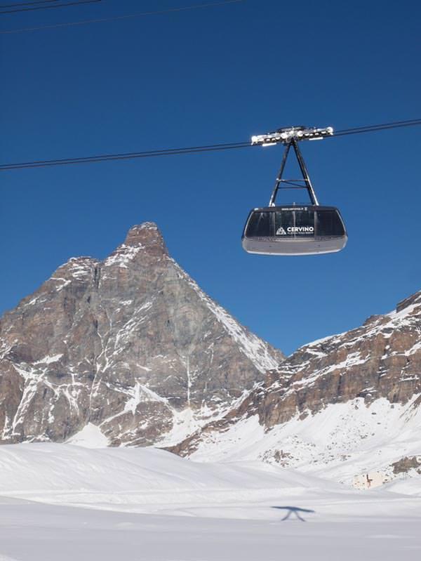 Aostatal - Cervinia - Funivia-Plateau