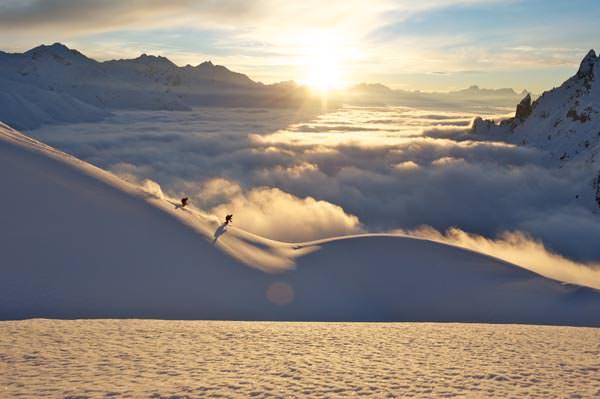 Lech Zuers am Arlberg - Freeriden