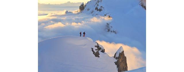 Lech Zuers am Arlberg - Ueber den Wolken