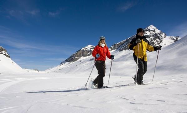 Leukerbad - Schneeschuhparadies Gemmi