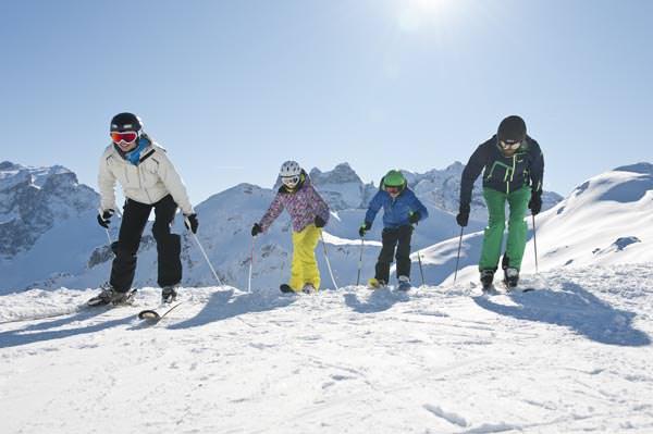 Montafon - Skifahren