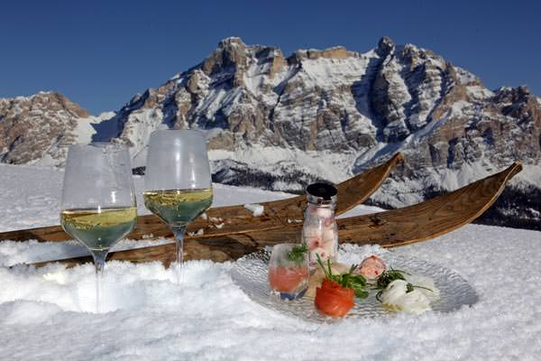 Skigebiet Alta Badia - Skifahren mit Genuss-Slope Food