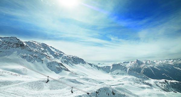 Skigebiet Grossglockner Skiresort Kals-Matrei - Pistenpanorama