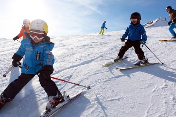 Skigebiet Savognin - Kinder Skifahren