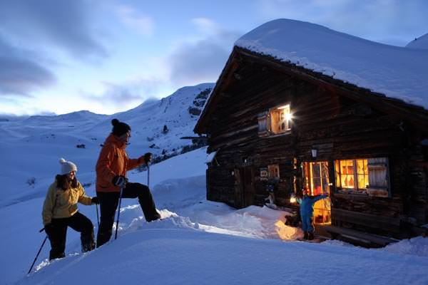 Skigebiet Savognin - Winterwandern