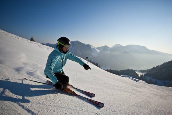 Alpenbahnen Spitzingsee - Skifahrer