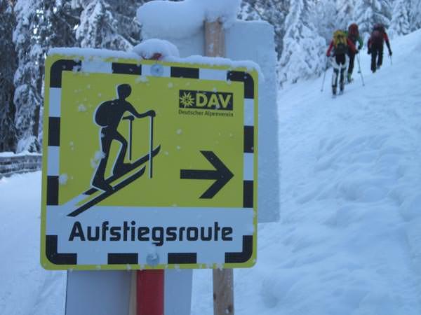 Deutscher Alpenverein - Skitouren auf Pisten