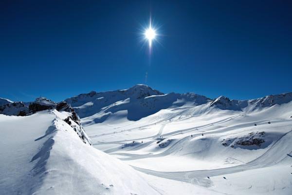 Fendels - Gletscherblick