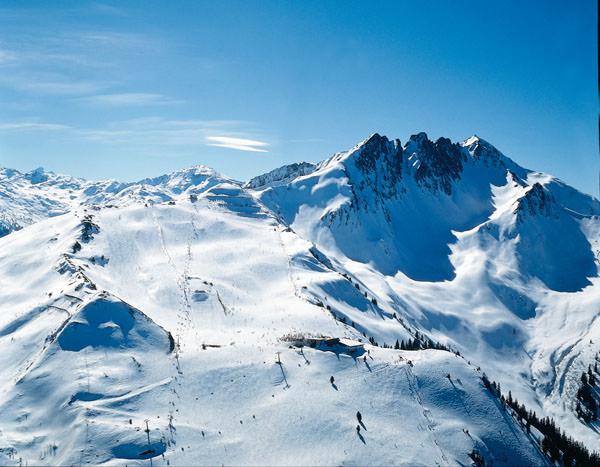Fuegen-Spieljoch - Skigebiet