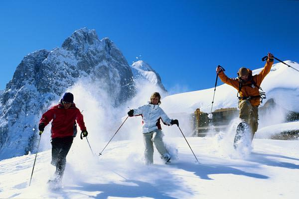 Gstaad - Schneeschuhtour vor Gummfluh