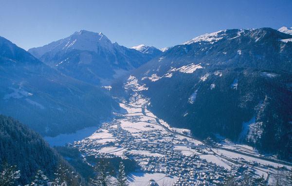 Mayrhofen - Ortsansicht