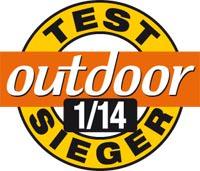Outdoor Testsieger 01 2014